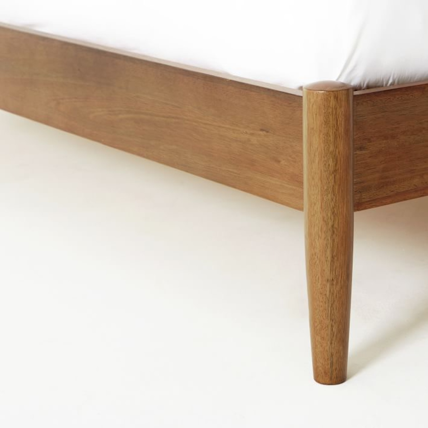 West Elm Mid Century Bed - Queen - image-2