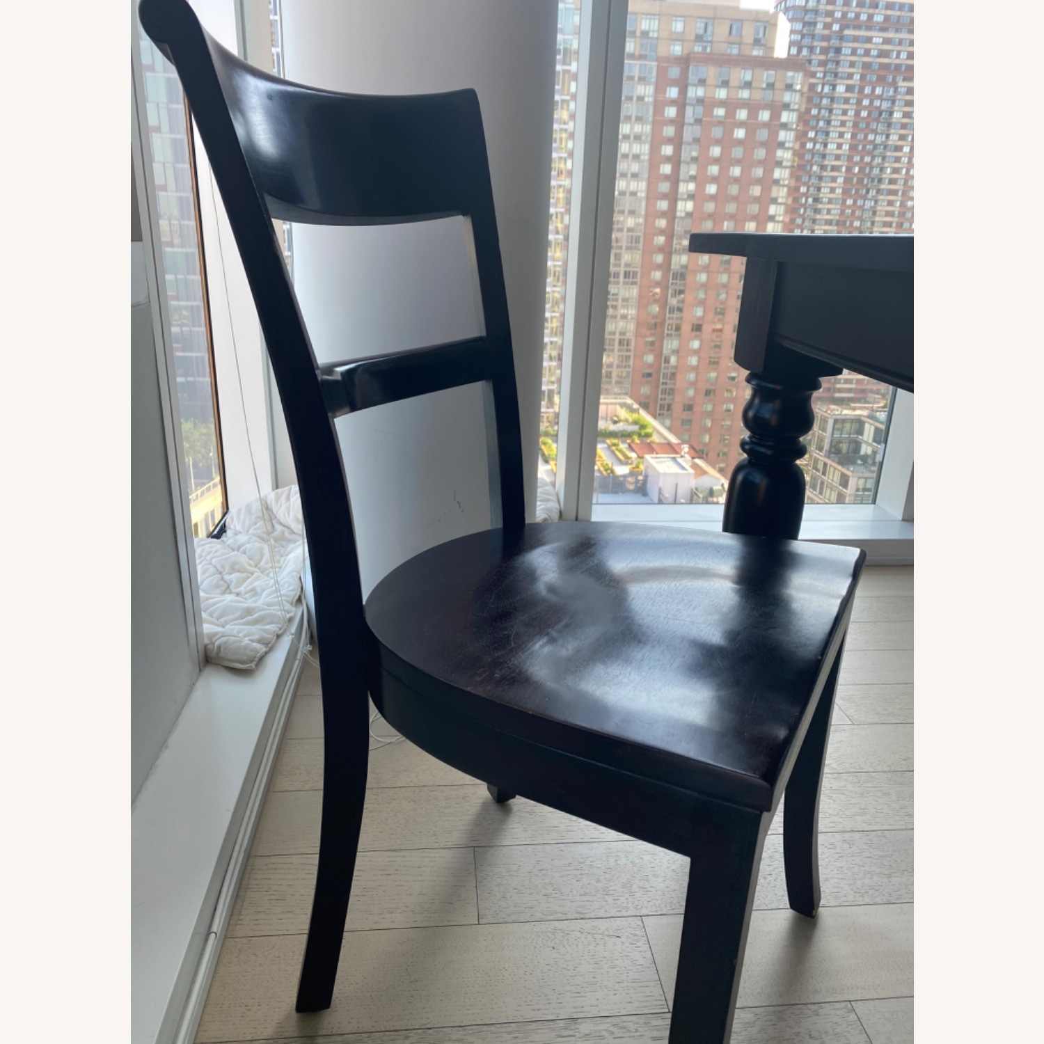 Crate & Barrel Kipling Table and 4 Chairs - image-4
