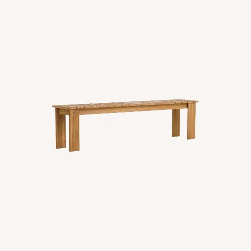 Used West Elm Playa Bench - Large for sale on AptDeco