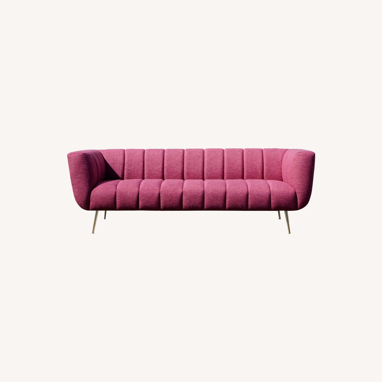 Brooklyn Space Mid-Century Ultra-Glam Sofa - image-0