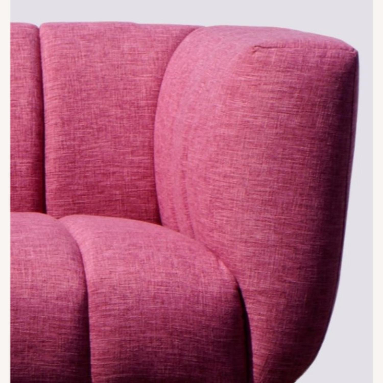 Brooklyn Space Mid-Century Ultra-Glam Sofa - image-3