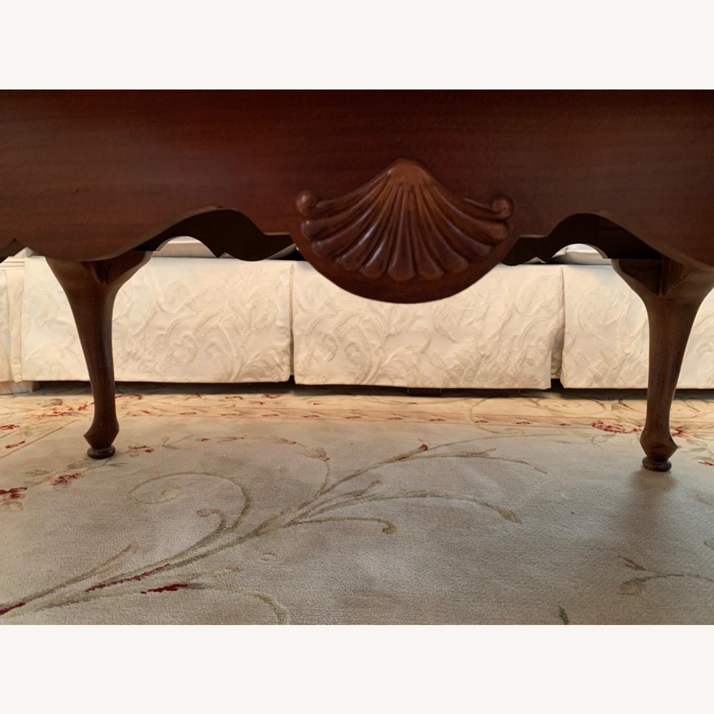American Drew Wood Oval Coffee Table - image-3