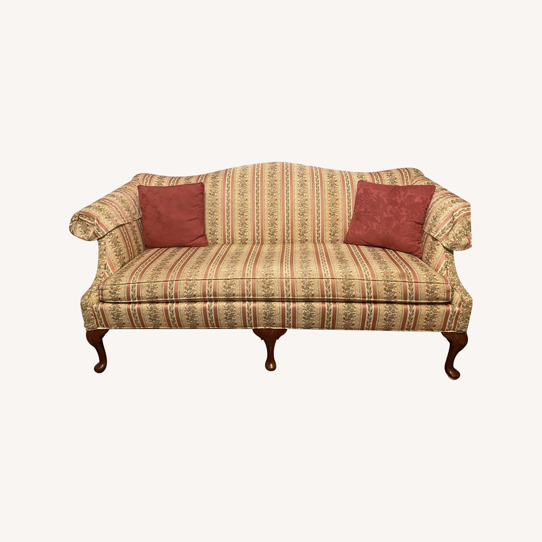 Antique/Vintage Floral 2 Seater Sofa - image-0