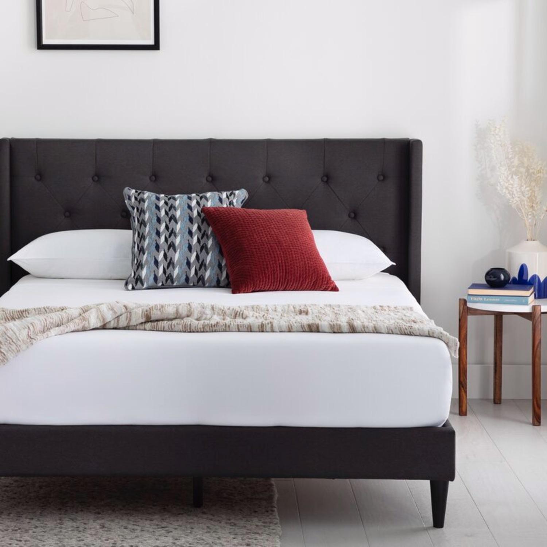 Wayfair Tufted Upholstered Low Profile Platform Bed - image-3