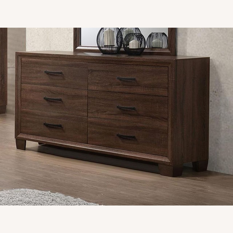 Warm Brown Modern Dresser - image-1