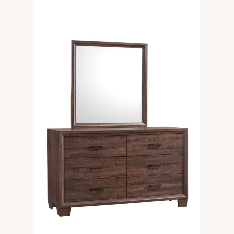 Warm Brown Modern Dresser - image-2