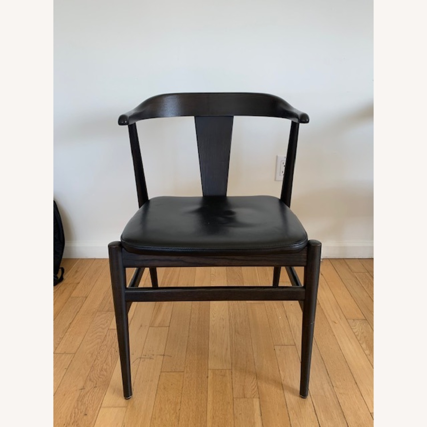 Room and Board Evans Chairs with Leather seats - image-3