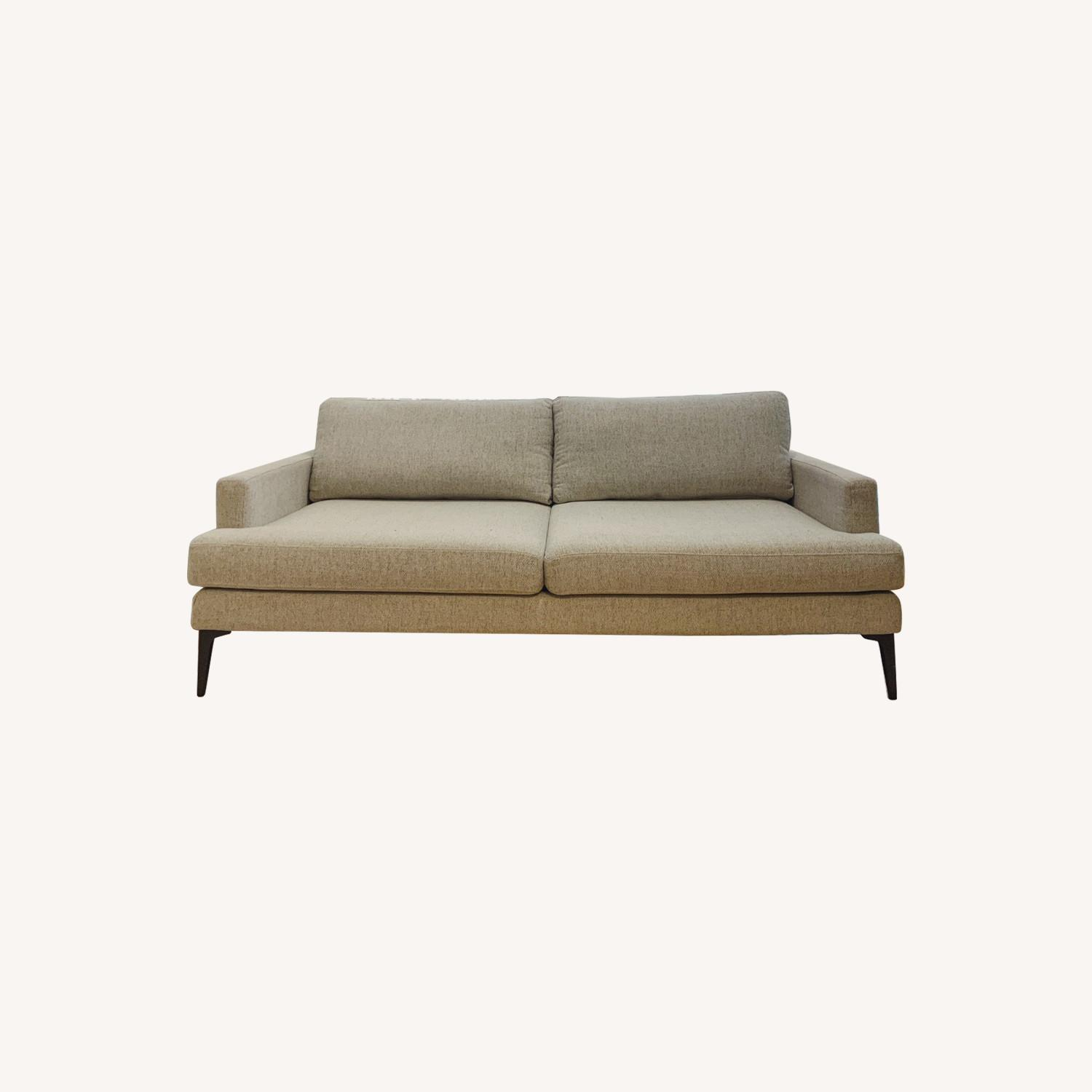 West Elm Feather Gray Andes Sofa - image-0