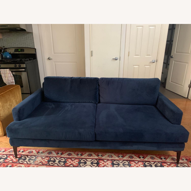 West Elm Andes Sofa | Ink Blue - image-2