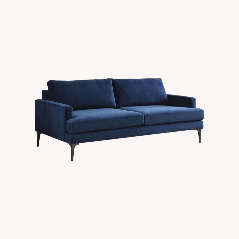 West Elm Andes Sofa | Ink Blue - image-0