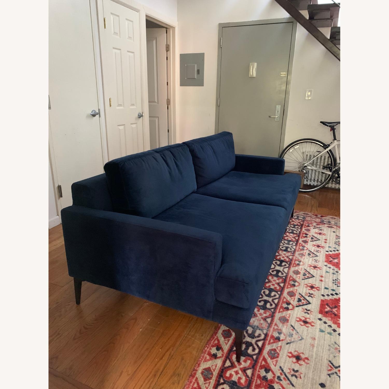 West Elm Andes Sofa | Ink Blue - image-3