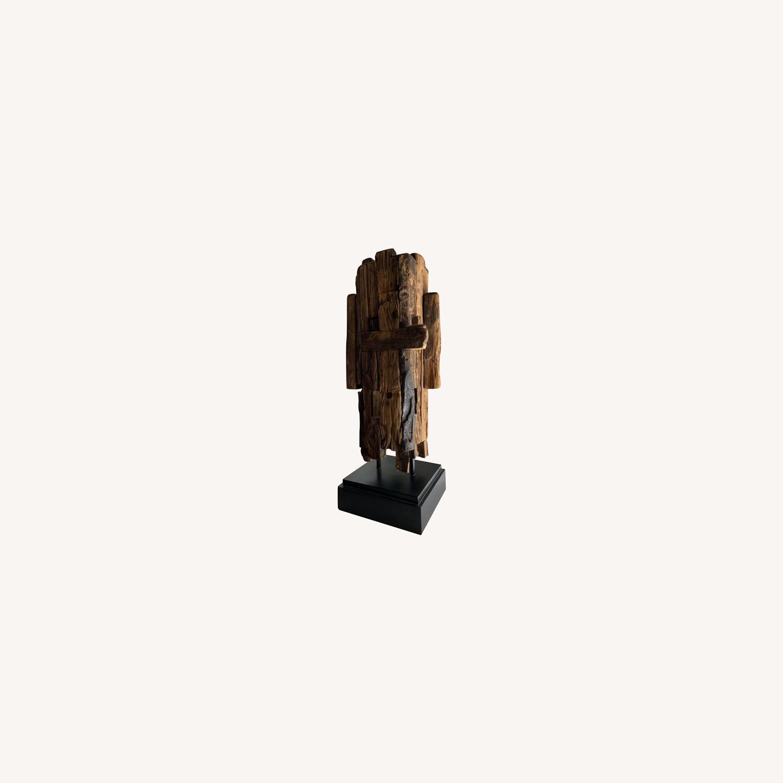 Safavieh Wooden Sculpture Mid Century Style - image-0