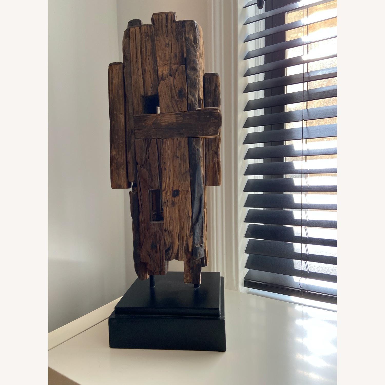 Safavieh Wooden Sculpture Mid Century Style - image-2