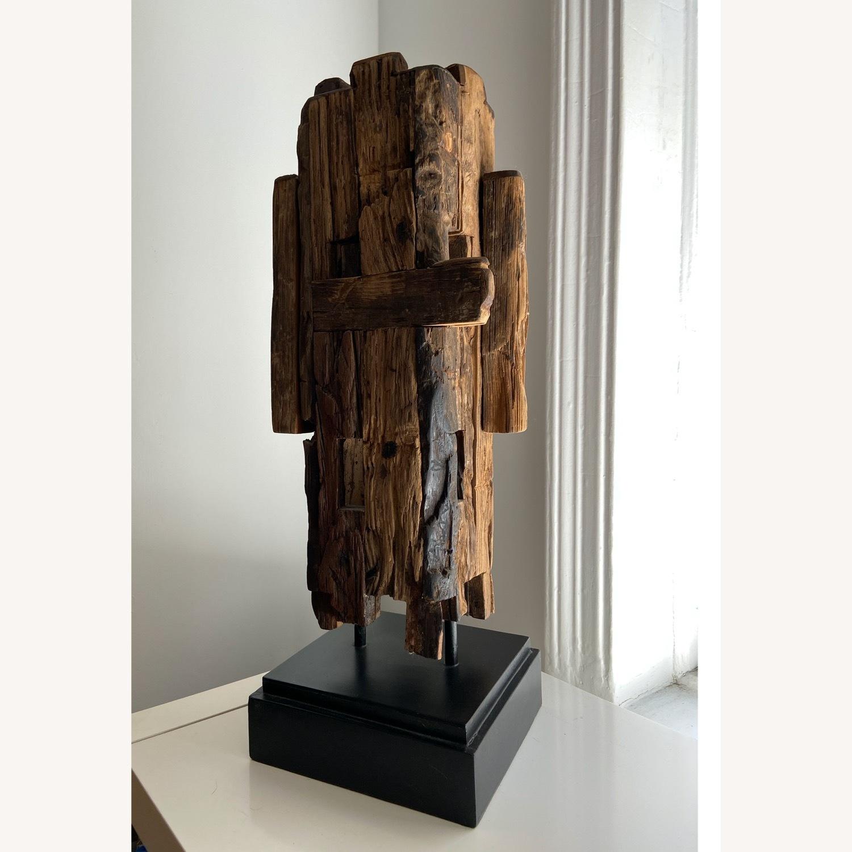 Safavieh Wooden Sculpture Mid Century Style - image-1