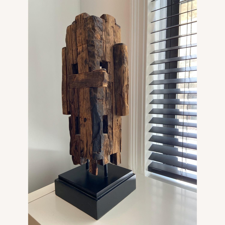 Safavieh Wooden Sculpture Mid Century Style - image-3