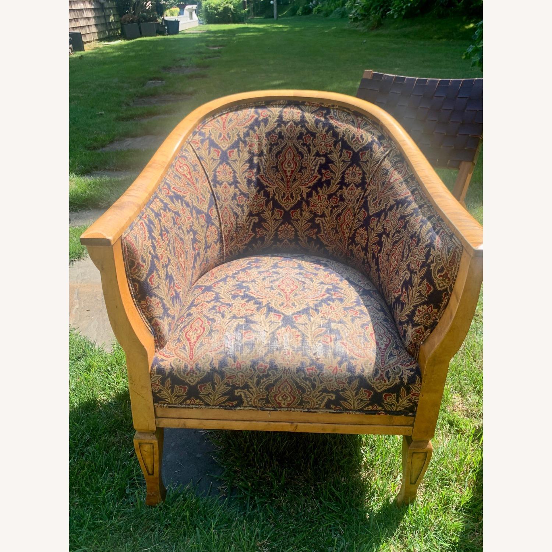 Set of 2 Antique Biedermeier Chairs - image-1