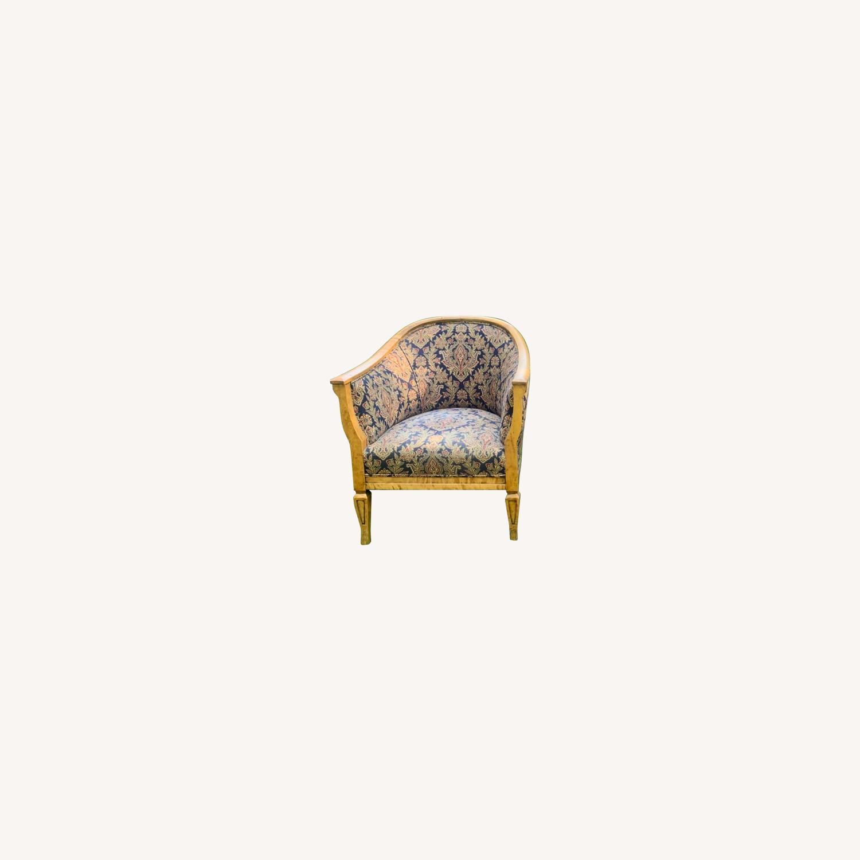 Set of 2 Antique Biedermeier Chairs - image-0