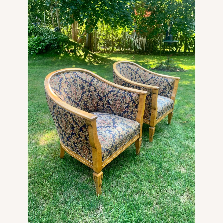 Set of 2 Antique Biedermeier Chairs - image-9