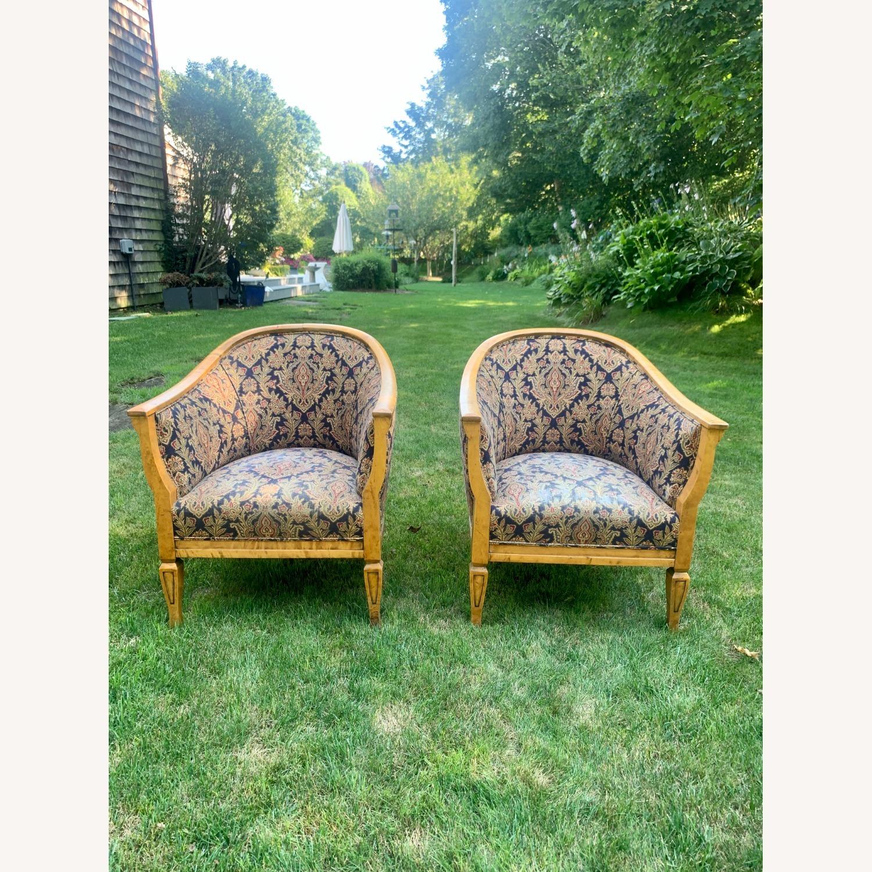 Set of 2 Antique Biedermeier Chairs - image-8