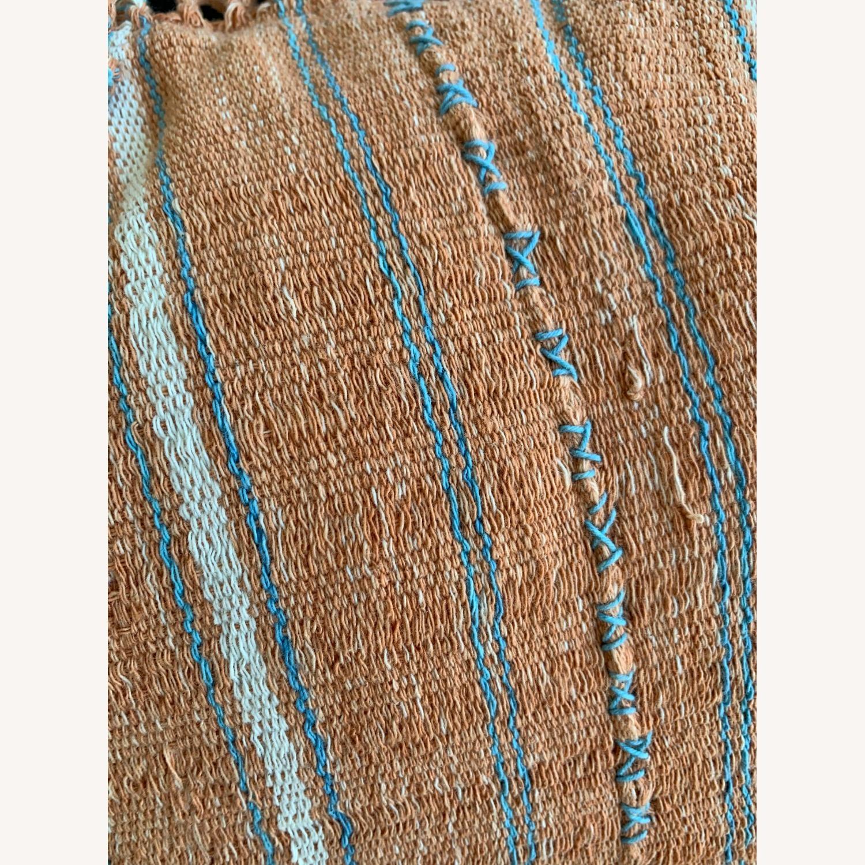 Vintage Hmong Woven Batik Pillow - image-3