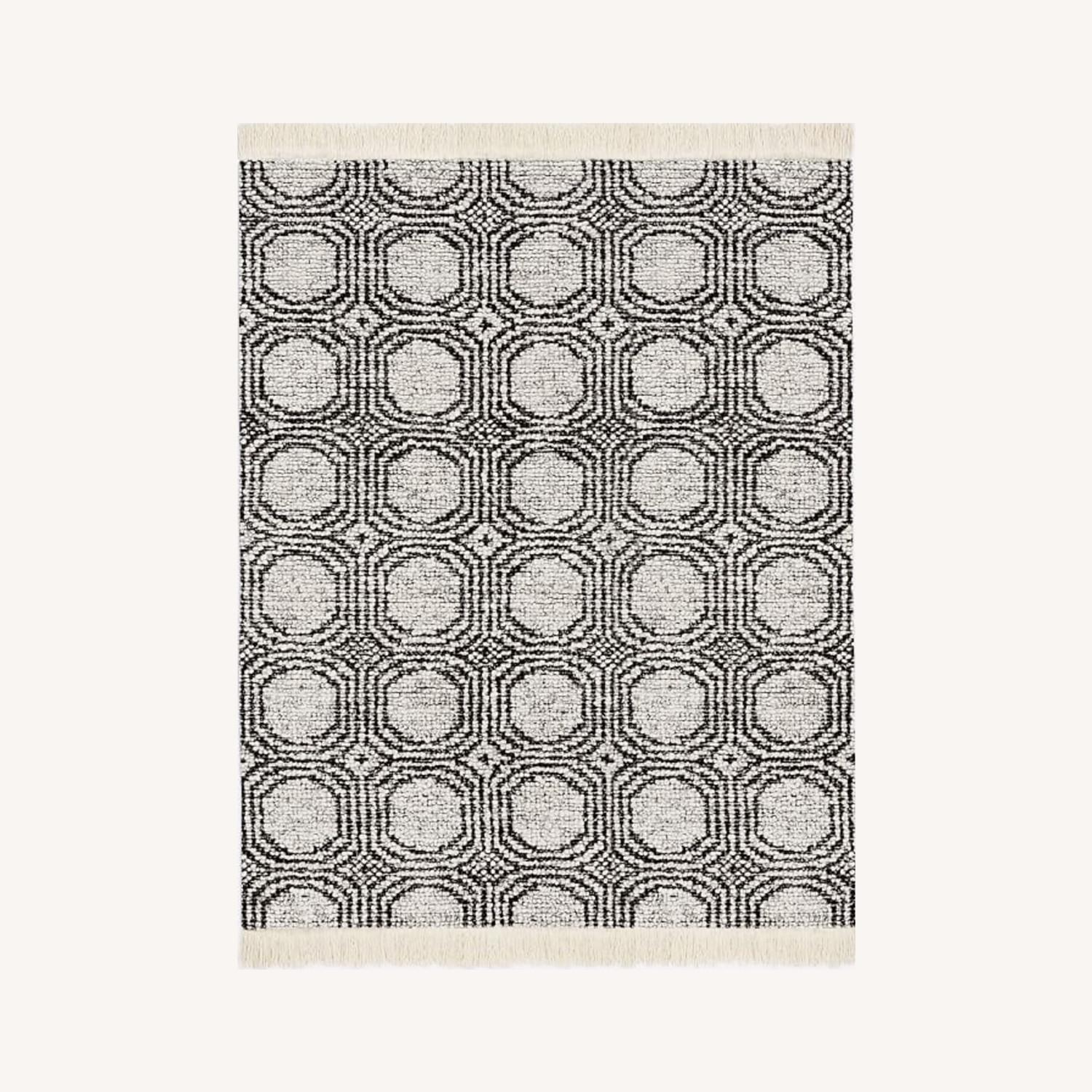 West Elm Concentric Circle Rug - image-0
