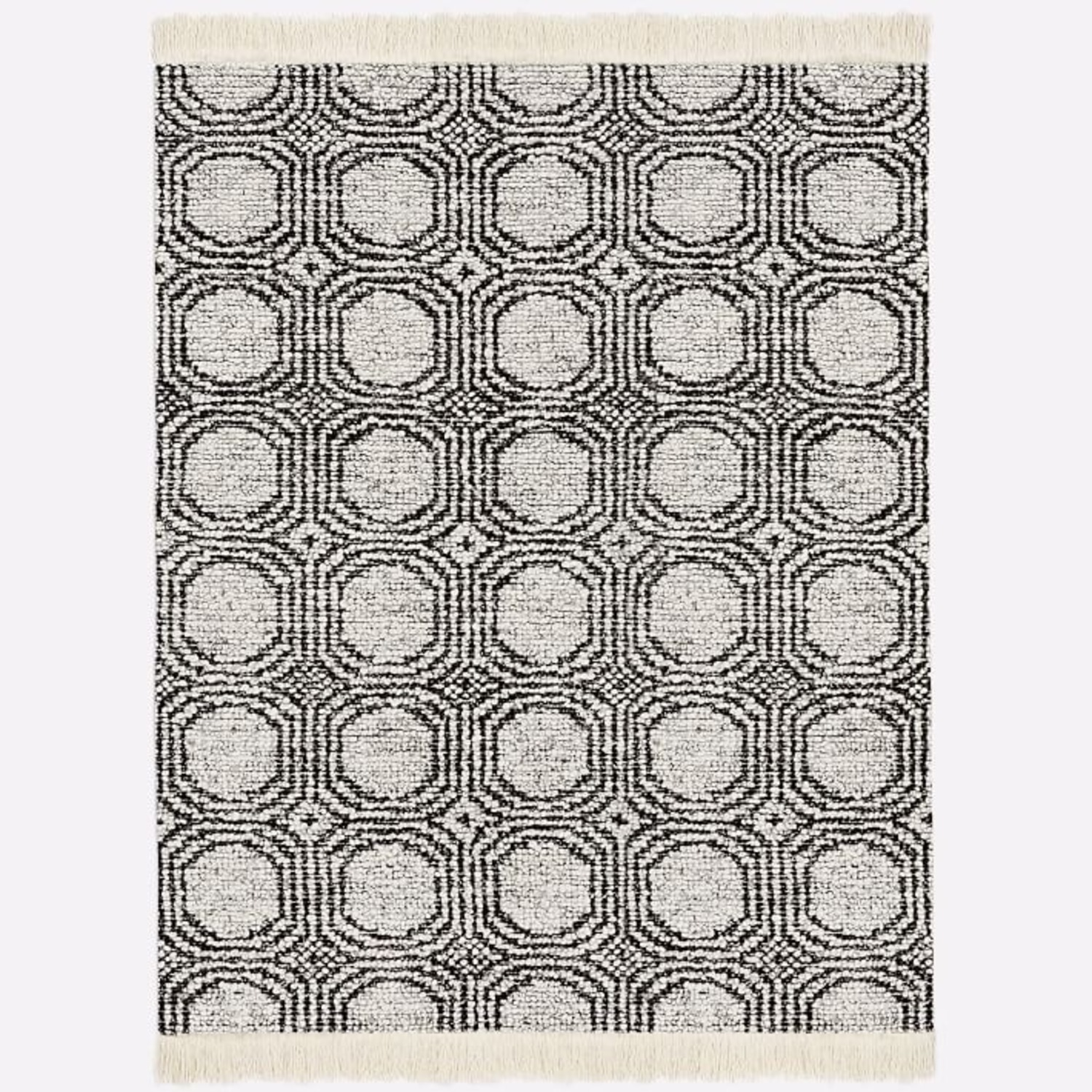 West Elm Concentric Circle Rug - image-3