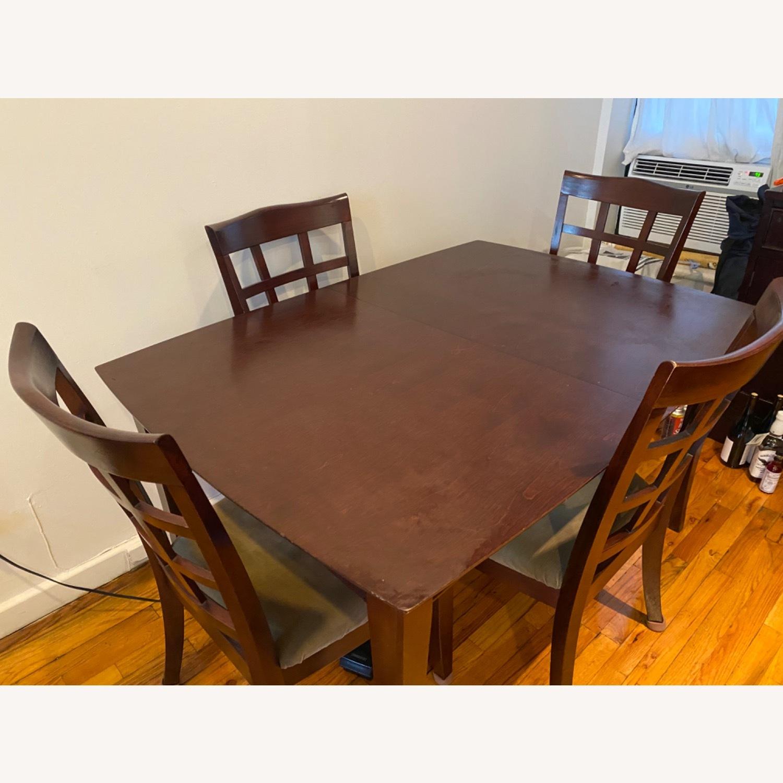 Solid Wood Dining Set - image-1
