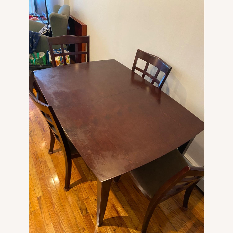 Solid Wood Dining Set - image-2