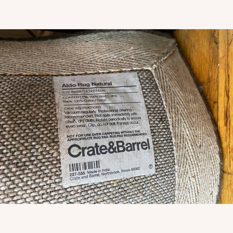 Crate & Barrel Wool Rug - image-3