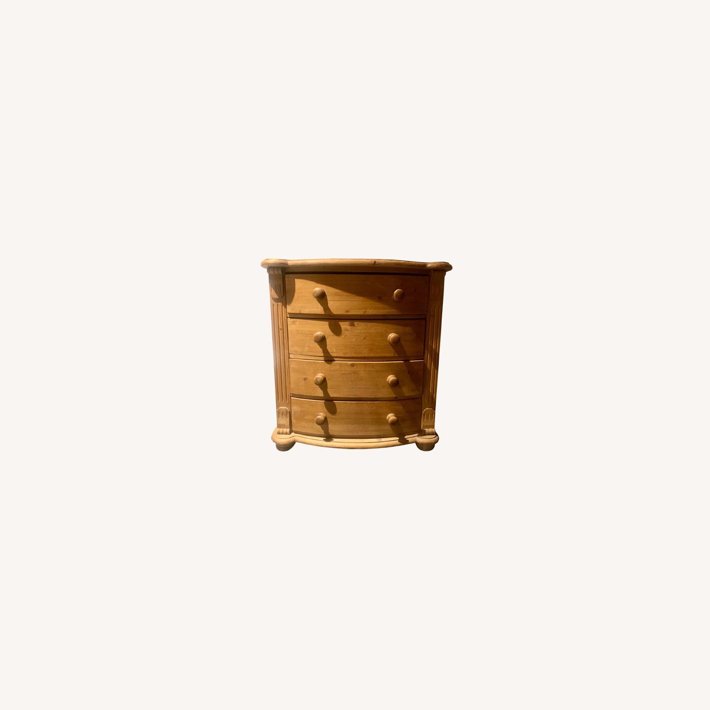 4 Drawer Wooden Dresser - image-0