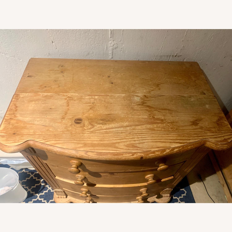 4 Drawer Wooden Dresser - image-3