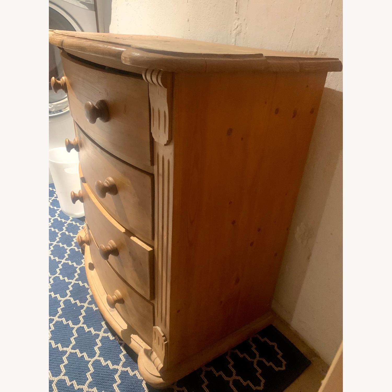 4 Drawer Wooden Dresser - image-2