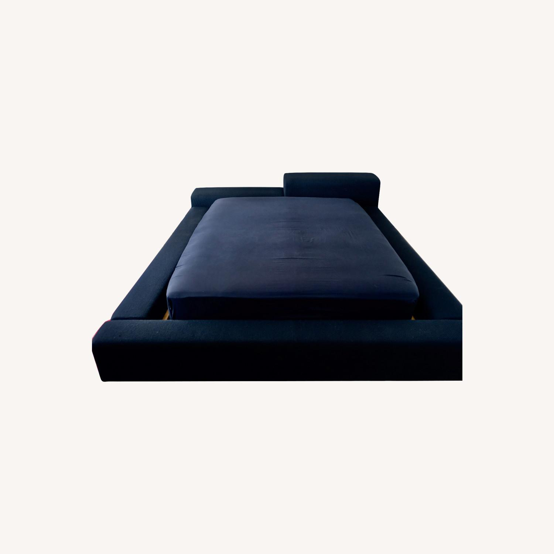 Black Italian Divani Bed - image-0