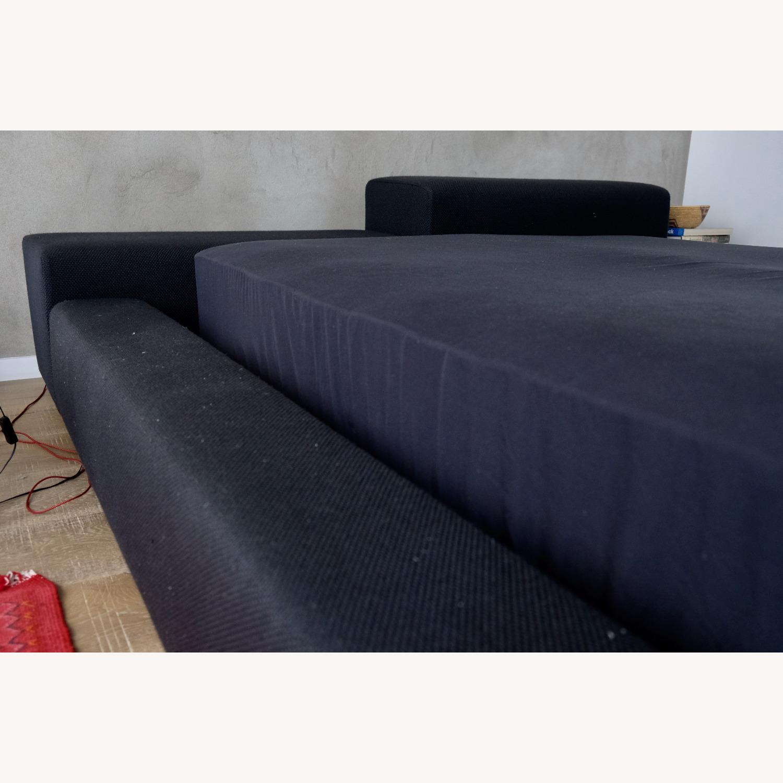 Black Italian Divani Bed - image-3