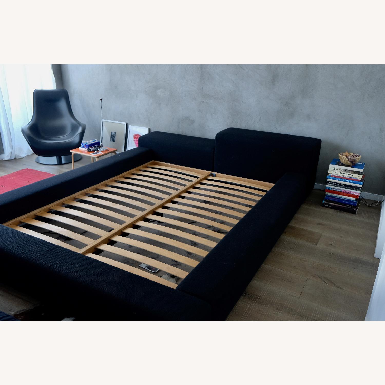 Black Italian Divani Bed - image-4
