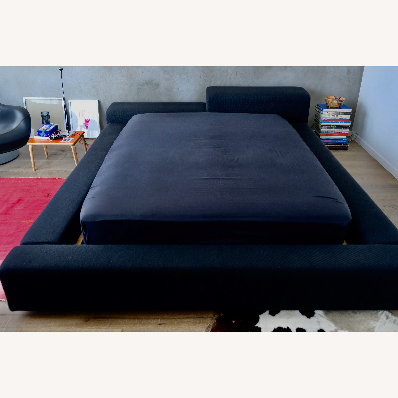 Black Italian Divani Bed - image-1