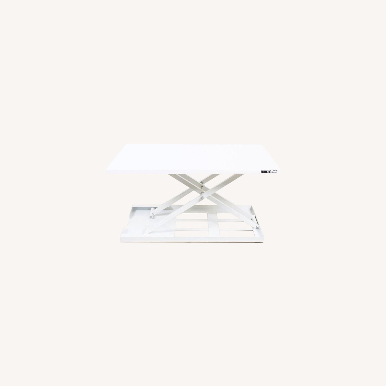Sturdy Standing Desk Converter White - image-0