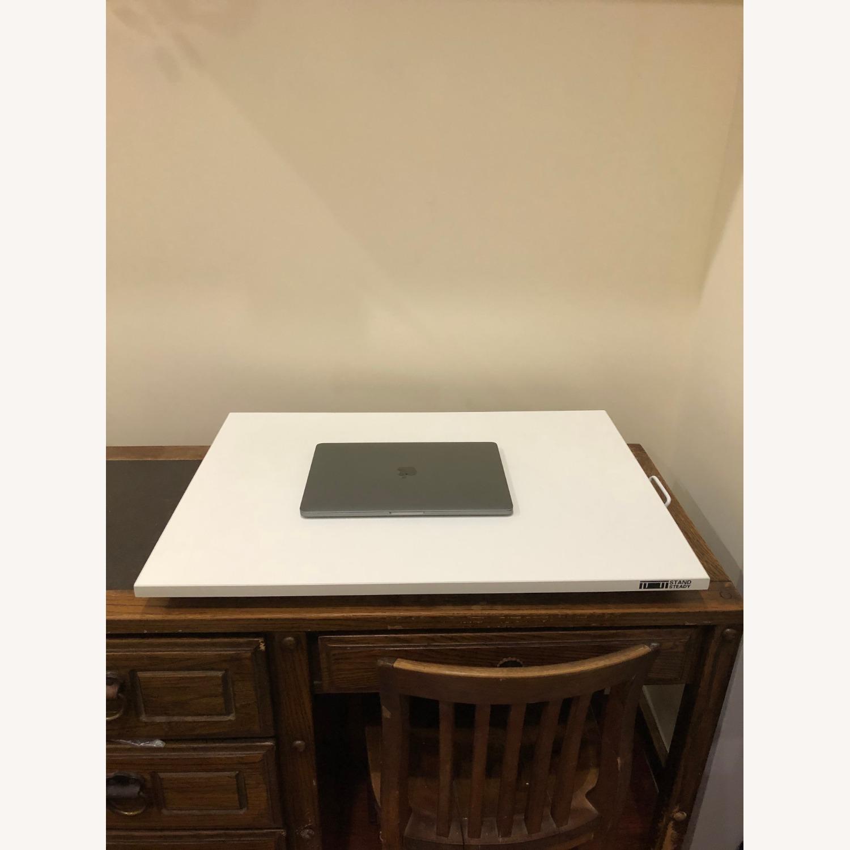 Sturdy Standing Desk Converter White - image-2