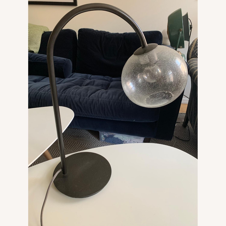 West Elm Bubble Glass Table Lamp - image-1
