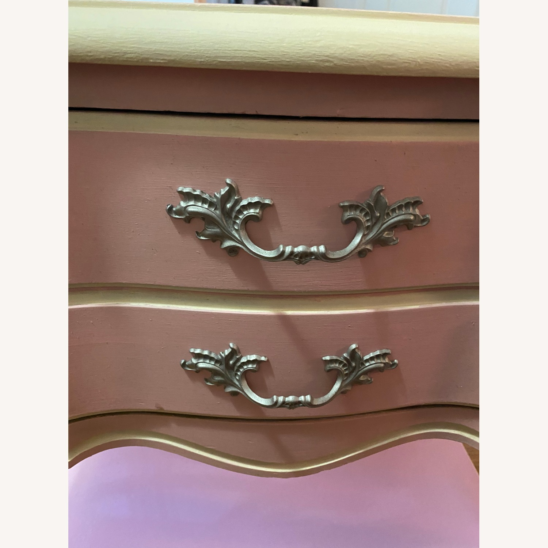 Vintage Restored Wooden Nightstand - image-2