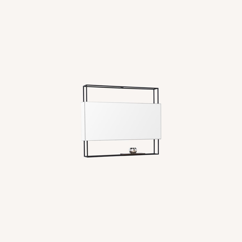Wayfair Modern Shadowbox Mirror - image-0