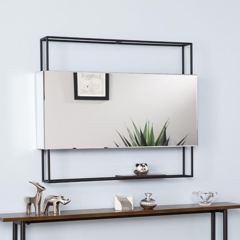 Wayfair Modern Shadowbox Mirror - image-1