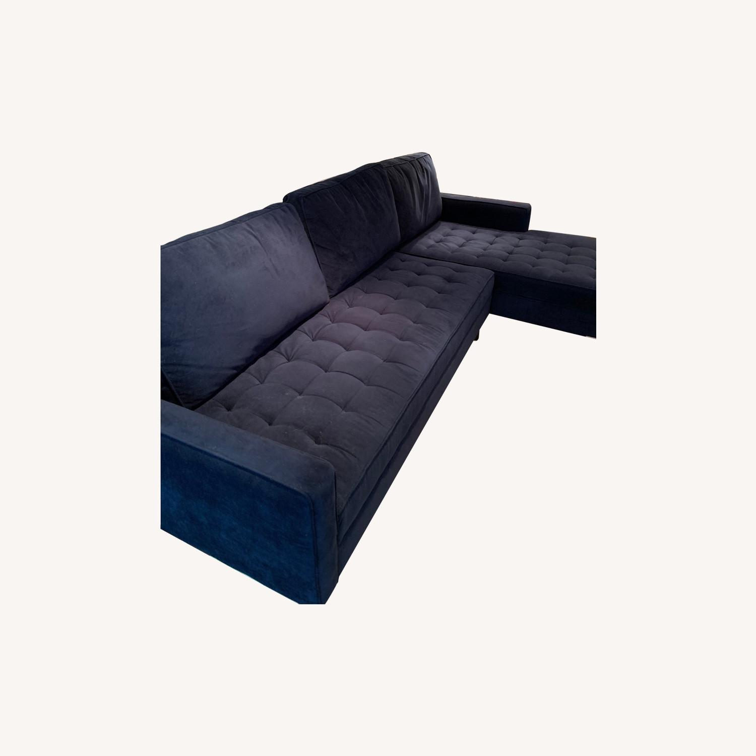 Z Gallerie Vapor 2 Piece Sectional - image-0