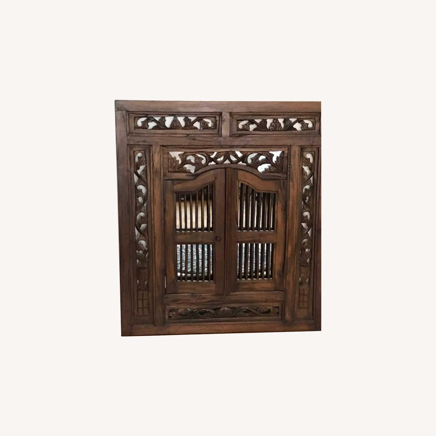 Artisan Home Mirror from Thailand - image-0