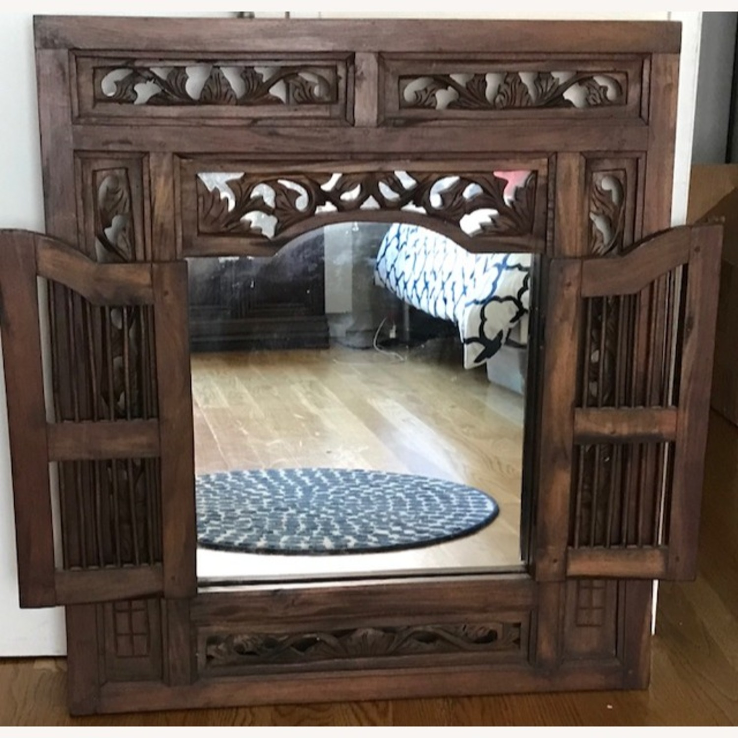 Artisan Home Mirror from Thailand - image-1