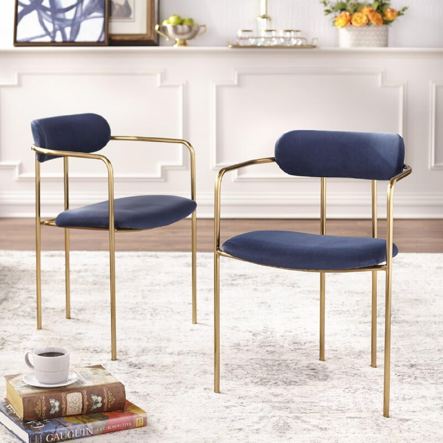 Wayfair Velvet Dining Chair - image-5