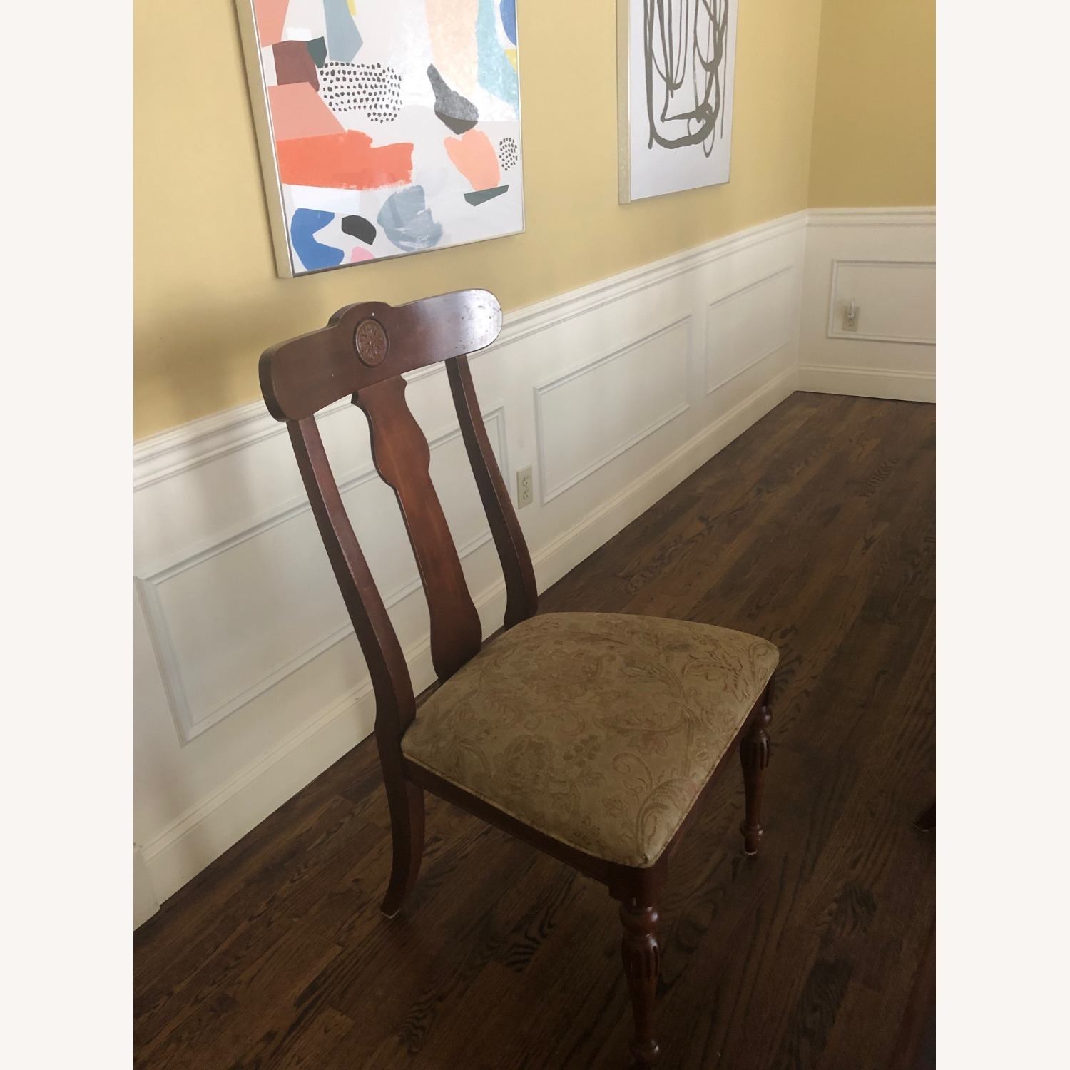 Ethan Allen Dining Room Chairs - image-3