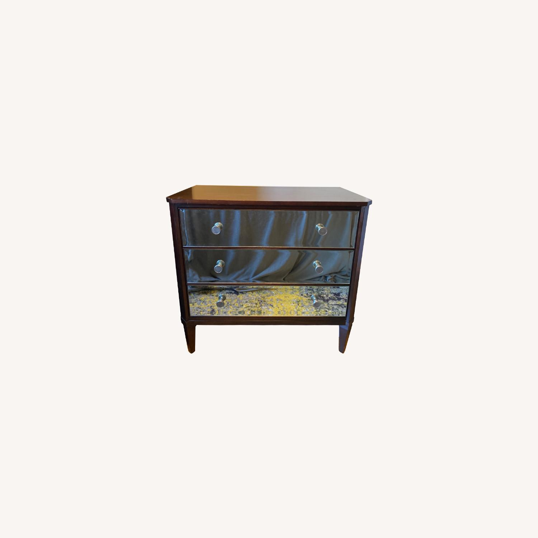 Ethan Allen Mirrored Wood Dresser - image-6