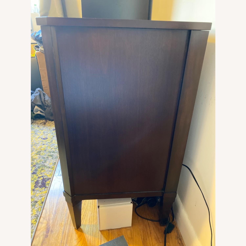 Ethan Allen Mirrored Wood Dresser - image-3