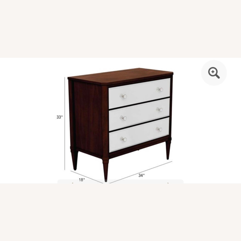 Ethan Allen Mirrored Wood Dresser - image-7
